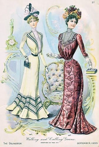 history of fashion design beginning year 1900 petiteoly
