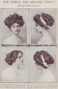 Hair 1900's
