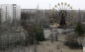 Ghost city of Chernobyl