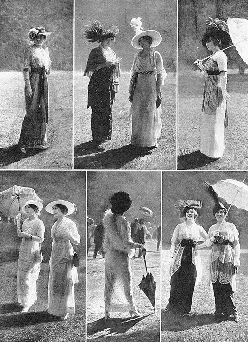 HISTORY OF FASHION DESIGN, YEAR 1910 TO 1920