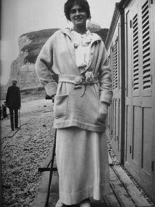 Circa 1912 - Gabrielle ChaTnel in Etreta
