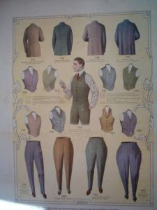 Menswear 1910's - Costume Reference