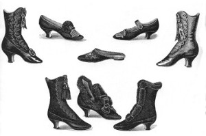 Shoes in the 1910's